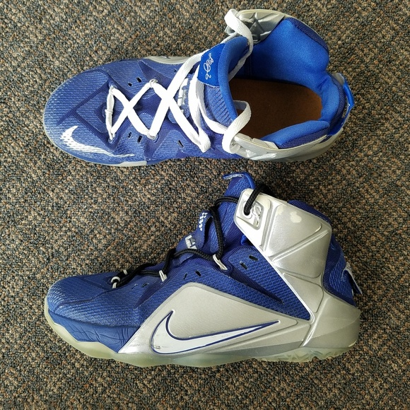 on sale c7687 a87e5 Nike Lebron 12 What If RARE 684593 410 Cowboys 10.  M5b948e04c6177764720998dd